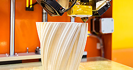 3D-Printing - Vase gedruckt mittels 3D-Druck
