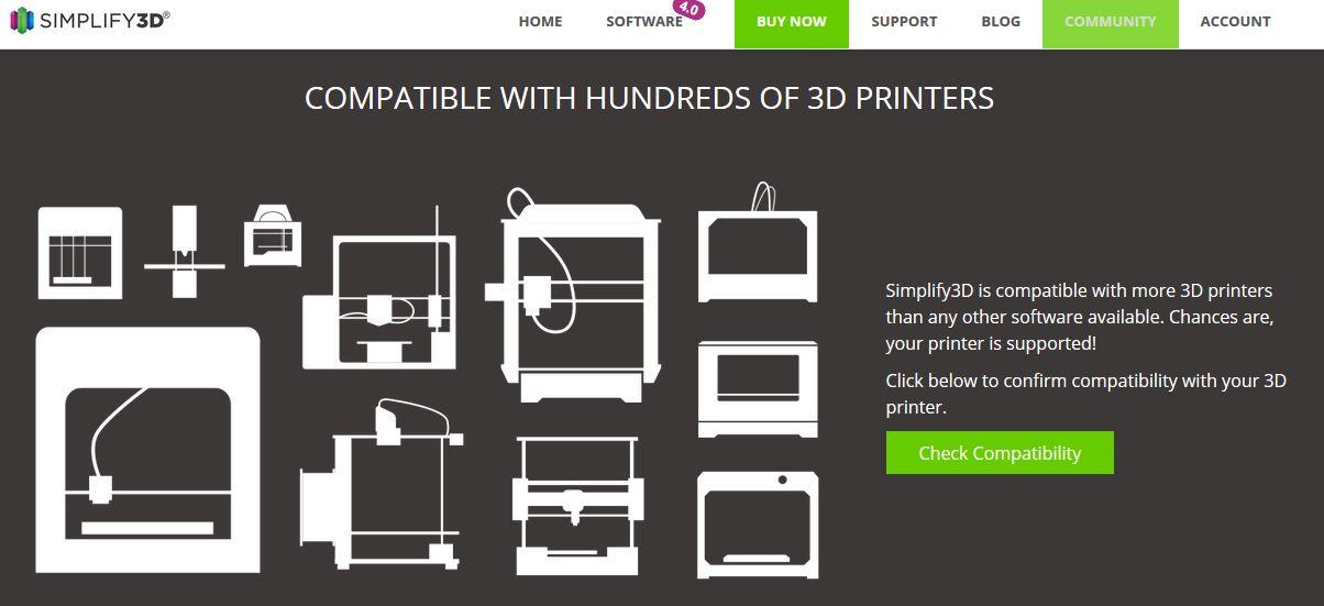 Slicer Software Simplify3D