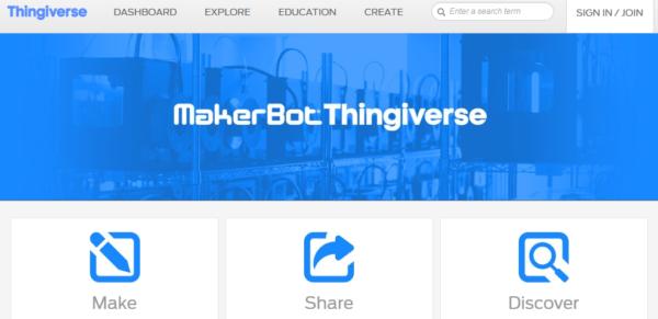 Thingiverse.com von MakerBot